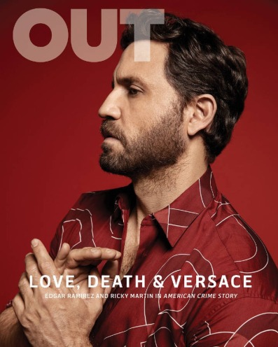 Edgar Ramírez for Out Magazine February 2018 Cover