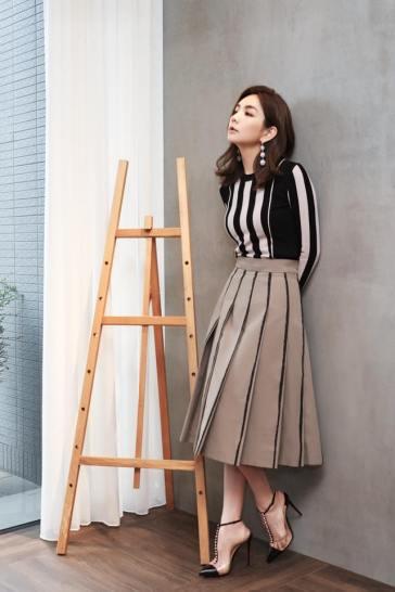 Ella Chen in Bottega Veneta Resort 2018-1