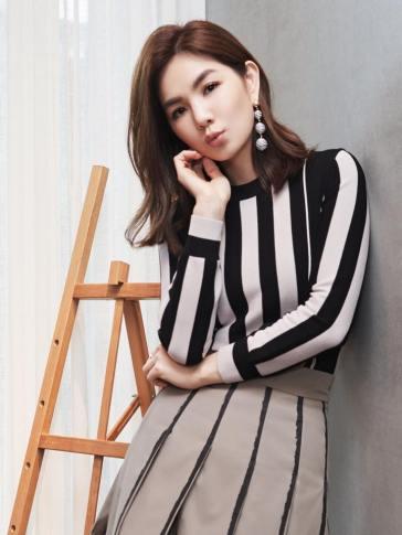 Ella Chen in Bottega Veneta Resort 2018-2