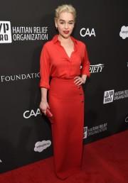Emilia Clarke in Elie Saab Spring 2018-1