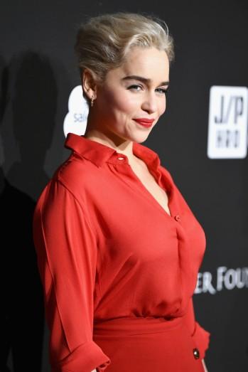 Emilia Clarke in Elie Saab Spring 2018-6