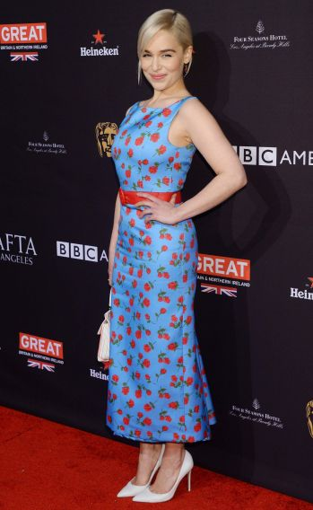 Emilia Clarke in Michael Kors Pre-Fall 2018-1