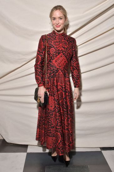 Emily Blunt in Dior Pre-Fall 2018-1