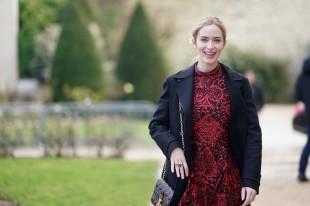 Emily Blunt in Dior Pre-Fall 2018-3