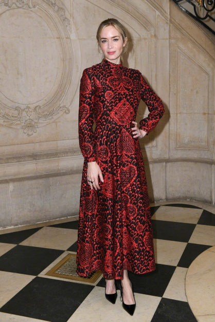 Emily Blunt in Dior Pre-Fall 2018-4