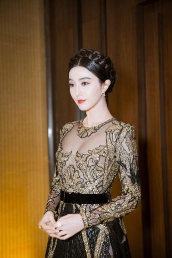 Fan Bingbing in Elie Saab Fall 2017 Couture-3