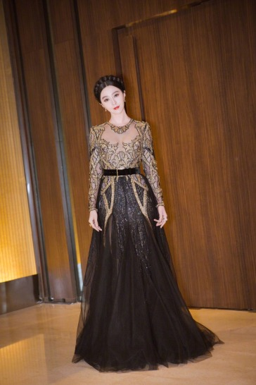 Fan Bingbing in Elie Saab Fall 2017 Couture