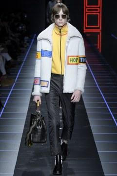 Fendi Fall 2017 Menswear