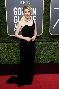 Greta Gerwig in Oscar de la Renta Fall 2017-3