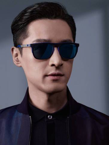 Hu Ge for Emporio Armani Spring 2018 Menswear Campaign-3