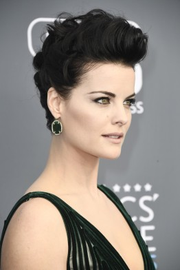 Jaimie Alexander in Georges Chakra Fall 2017 Couture-6