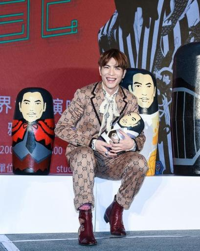 Jam Hsiao in Gucci Resort 2018-5
