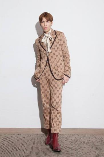Jam Hsiao in Gucci Resort 2018