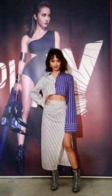 Jolin Tsai in Off-White Resort 2018-12