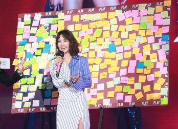 Jolin Tsai in Off-White Resort 2018-3