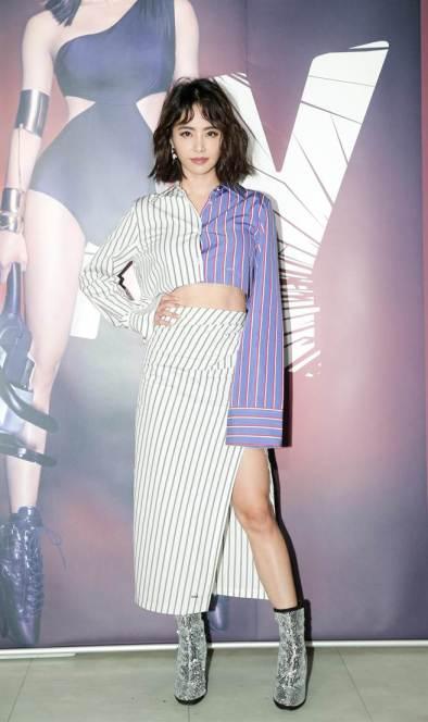 Jolin Tsai in Off-White Resort 2018
