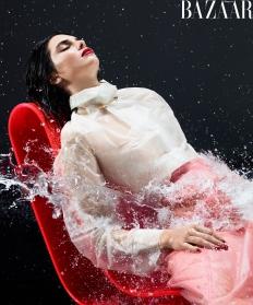 Kendall Jenner Harper's Bazaar US February 2018-2