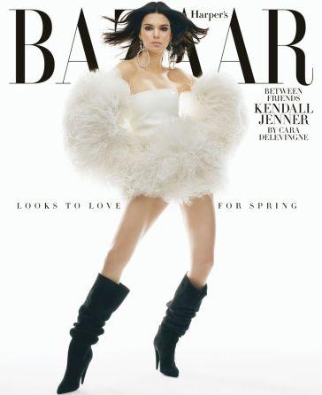 Kendall Jenner Harper's Bazaar US February 2018-6