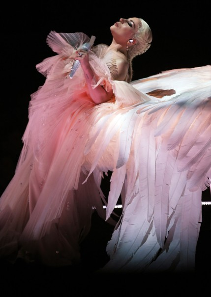 Lady Gaga in Armani Privé-2