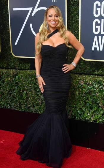 Mariah Carey in Dolce & Gabbana Spring 2018-1