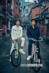 Mark Chao & Lin Geng Xin for Cosmopolitan China February 2018-2