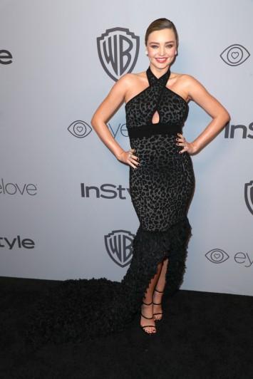 Miranda Kerr in Balmain Pre-Fall 2018