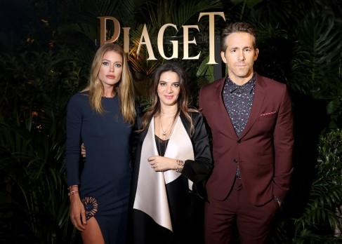 Piaget At SIHH 2018 Dinner Doutzen Kroes & Ryan Reynolds-1