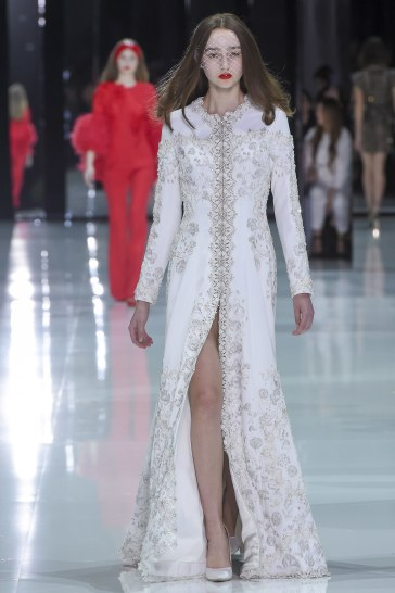 Ralph & Russo Spring 2018 Couture Look 52