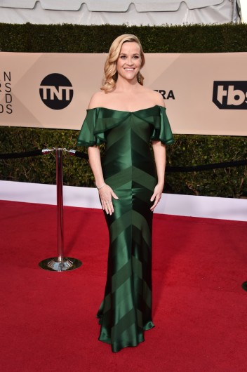 Reese Witherspoon in Zac Posen Pre-Fall 2018-2