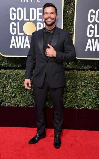 Ricky Martin in Dior Homme