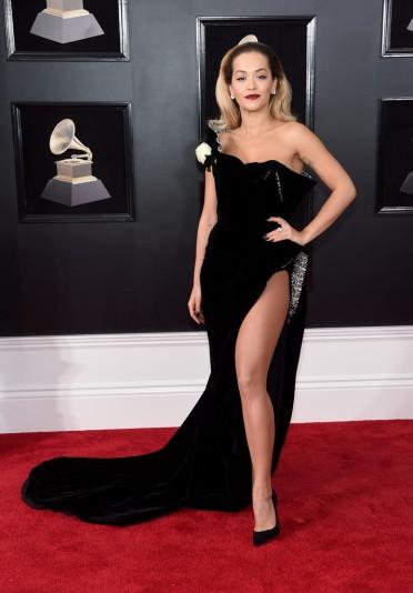Rita Ora in Ralph & Russo Spring 2018 Couture