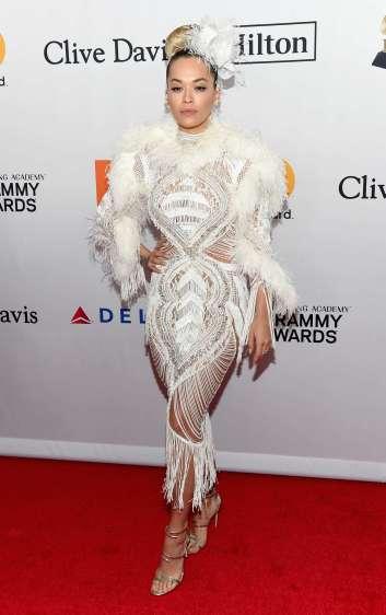 Rita Ora in Zuhair Murad Fall 2017 Couture-2