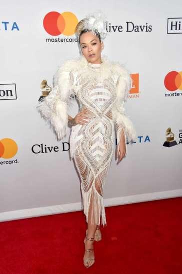 Rita Ora in Zuhair Murad Fall 2017 Couture