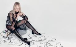 Sasha Pivovarova for Dior Spring 2018 Campaign-5