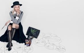Sasha Pivovarova for Dior Spring 2018 Campaign-7