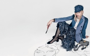 Sasha Pivovarova for Dior Spring 2018 Campaign-8