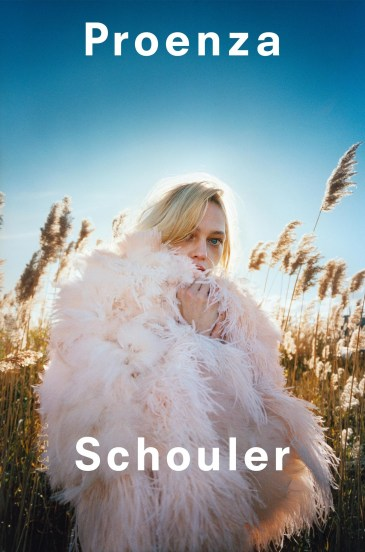 Sasha Pivovarova Proenza Schouler Spring 2018 Campaign-2