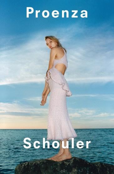 Sasha Pivovarova Proenza Schouler Spring 2018 Campaign-4