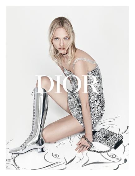 Sasha Pivovarova X Dior Spring 2018 Campaign-10