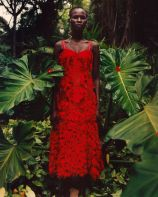 Shanelle Nyasiase for Alexander McQueen Spring 2018 Campaign-10