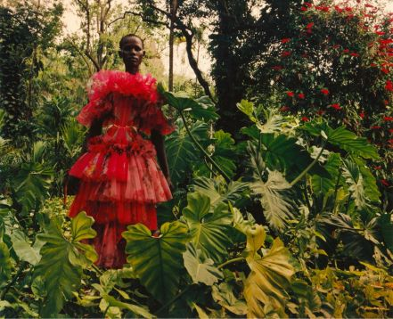 Shanelle Nyasiase for Alexander McQueen Spring 2018 Campaign-3
