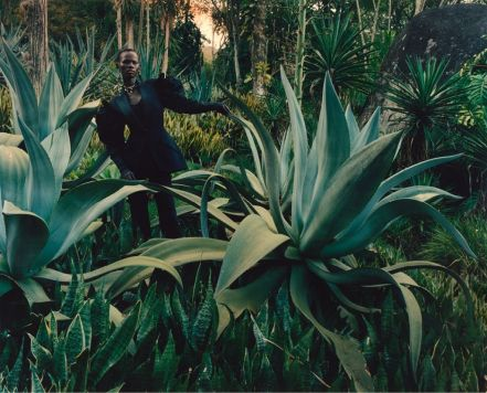 Shanelle Nyasiase for Alexander McQueen Spring 2018 Campaign-5