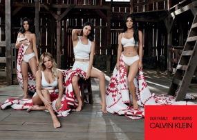 The Kardashians for Calvin Klein #MyCalvins Our Family Campaign-3