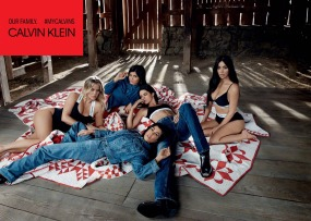 The Kardashians for Calvin Klein #MyCalvins Our Family Campaign-5