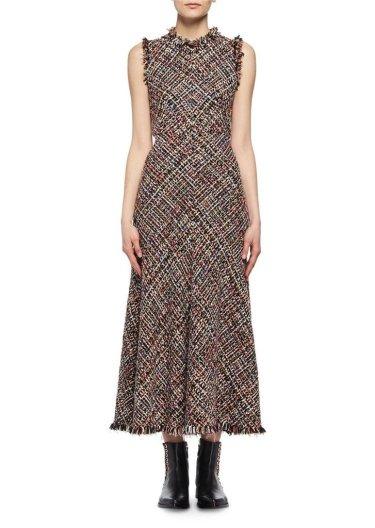 Alexander McQueen tweed dress-1