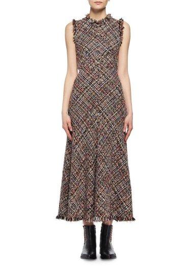 Alexander McQueen tweed dress-1