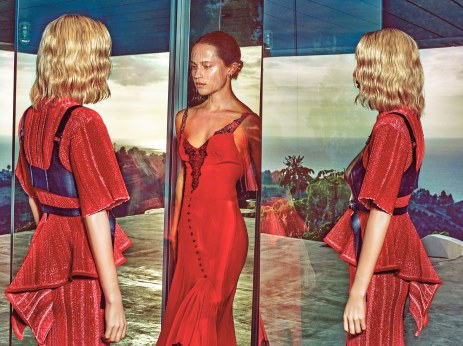 Alicia Vikander for Vogue US March 2018-5