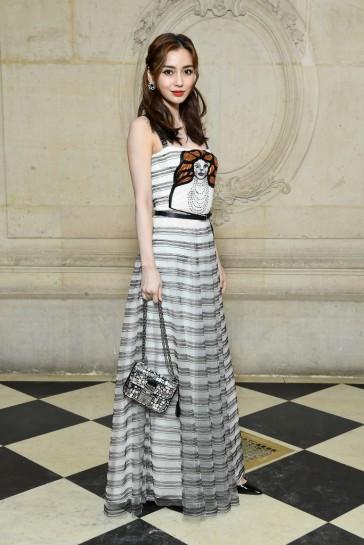 Angelababy in Dior Spring 2018-4