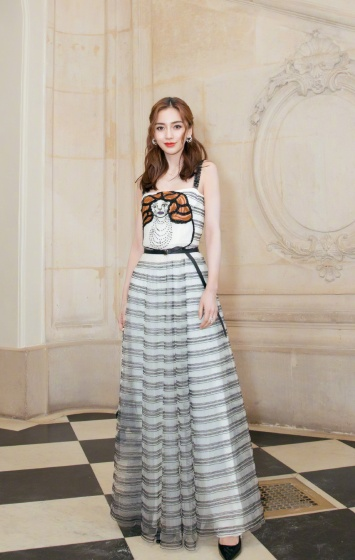 Angelababy in Dior Spring 2018-8