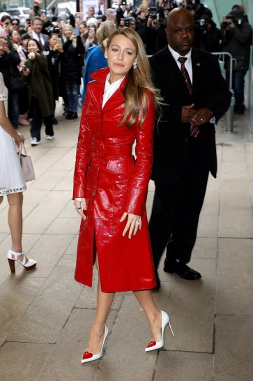 Blake Lively in Michael Kors Pre-Fall 2018-2